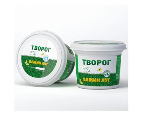 Творог ТМ Бежин луг классический, 5%, 230 г