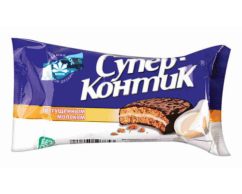 Печенье Konti Супер-Контик со сгущенным молоком 100г