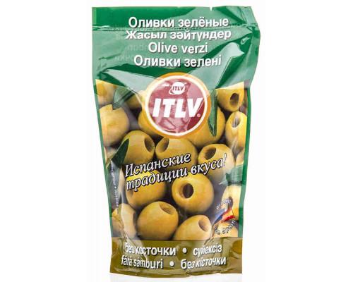 Оливки зеленые Itlv б/к 195г д/п