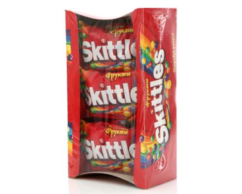 Драже Фрукты 12*38г ТМ Skittles (Скитлс)
