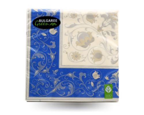Салфетки бумажные 20шт ТМ Bulgaree Green (Булгари Грин)