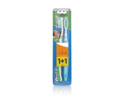 Набор зубных щеток Natural Fresh 1 + 1 ТМ Oral-B (Орал-Би)