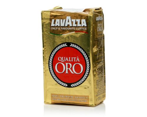 Кофе молотый Qualita Oro (Квалита Оро) ТМ Lavazza (Лавацца)
