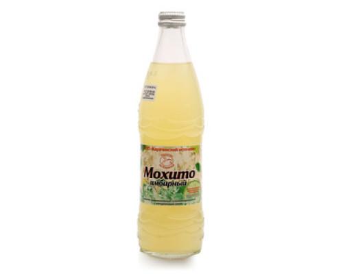 Безалкогольный сильногазированный напиток с натуральным соком лайма имбирный ТМ Мохито