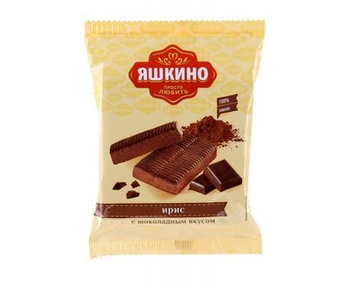 Ирис ТМ Яшкино с шоколадным вкусом, 140 г