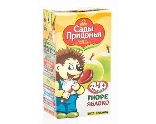 Пюре Сады Придонья яблоко с 4 мес 125г т/п