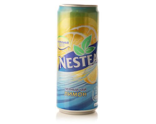 Черный чай со вкусом лимона ТМ Nestea (Нести)