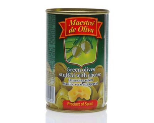 Оливки с сыром ТМ Maestro de Oliva (Маэстро де Олива)