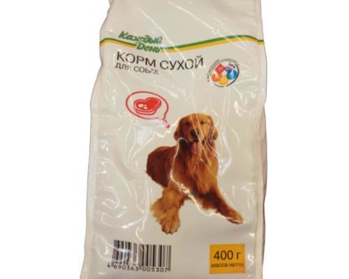 Сухой корм для собак Каждый день, 400 г