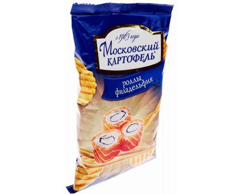 Чипсы ТМ Московский картофель, роллы Филадельфия 70 г