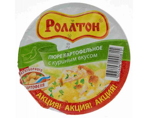 Пюре картофельное Роллтон куриное 40г ст