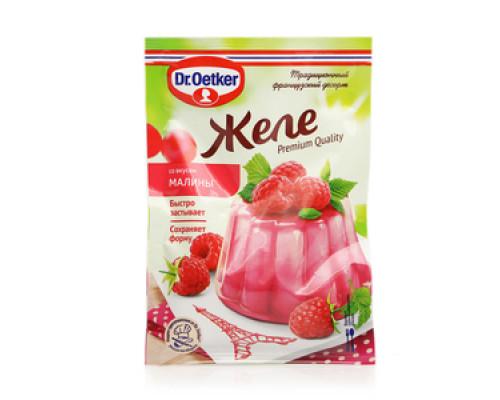 Желе со вкусом малины ТМ Dr. Oetker (Доктор Оеткер)