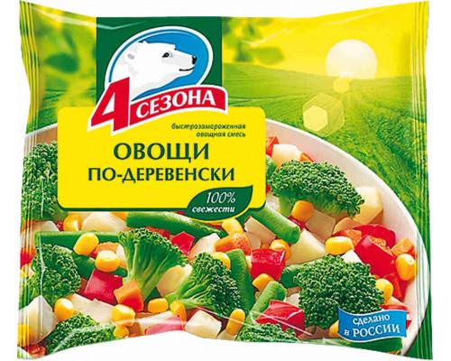 Овощи по-деревенски 4 сезона 400г