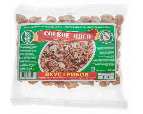 Мясо соевое Продальянс грибы 100г