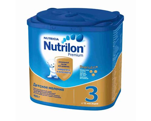 Смесь молочная Nutrilon 3 с 12мес 400г