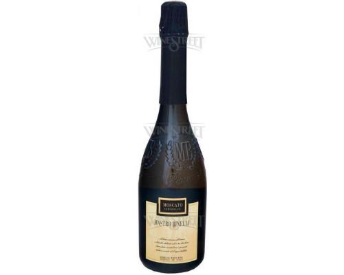 Вино игристое белое полусладкое ТМ Mastro Binelli Moscato (Мастро Бинелли Москато), 7.5%, 0.75 л