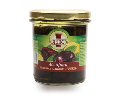 Ассорти вяленых оливок ТМ Greco (Греко)