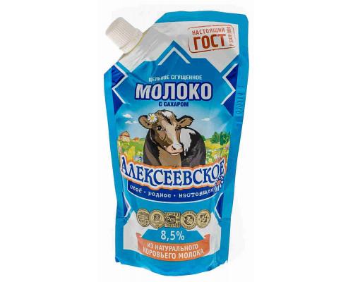 Молоко сгущенное Алексеевское с сахаром 8,5% 270г д/п