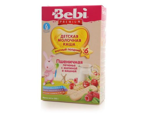Каша молочная Полдник печенье с малиной и вишней ТМ Bebi (Бэби)