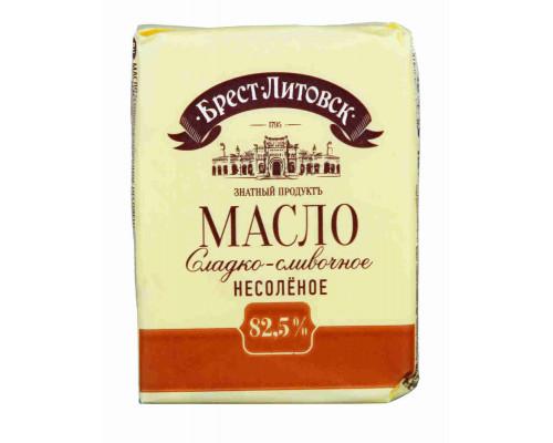 Масло сладкосливочное Брест-Литовск 82,5% 180г