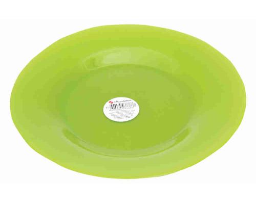 Тарелка десертная закален.стекло  20см Green Village арт.10327 D 28370 SL