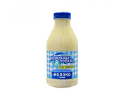 Молоко цельное сгущенное с сахаром ТМ Молочная страна