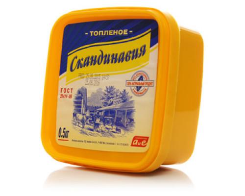 Масло топленое 99,7% ТМ Скандинавия