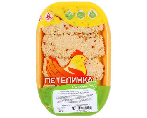 Котлеты ТМ Петелинка со сладким перцем и сыром, охлажденные, 0,5 кг