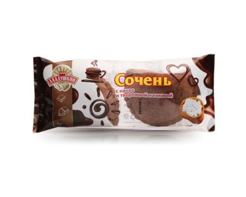 Сочень с какао и творожной начинкой 2*60 гр ТМ Аладушкин