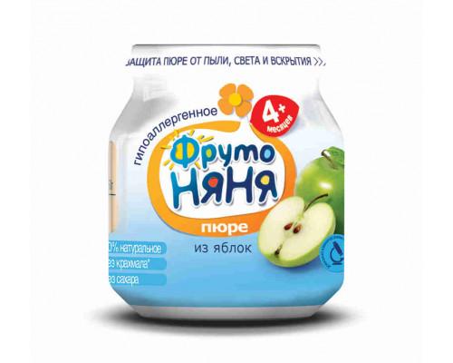 Пюре ФрутоНяня яблоко с 4мес 100г ст/б
