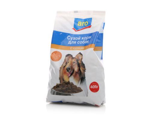 Корм сухой для собак с курицей ТМ Aro (Аро)