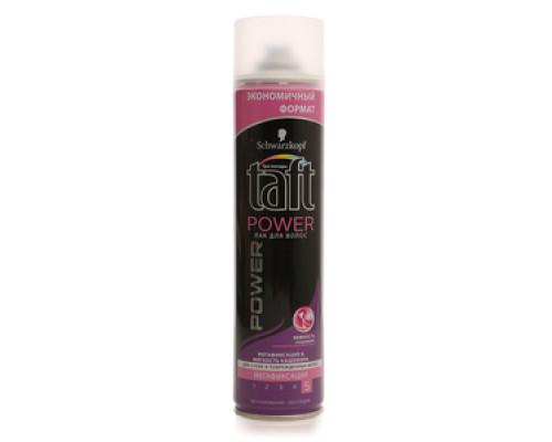 Лак для волос Power мегафиксация и мягкость кашемира ТМ Taft (Тафт)