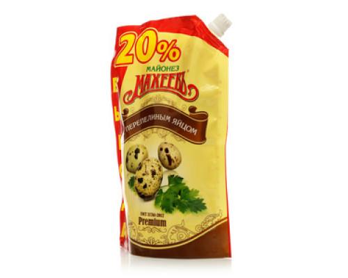 Майонез Premium с перепелиным яйцом 50,5% ТМ Махеевъ