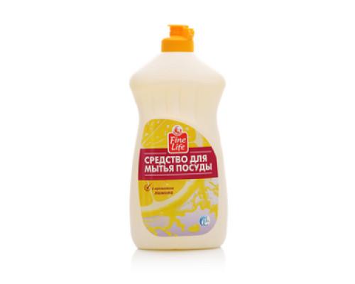 Средство для мытья посуды с ароматом лимона ТМ Fine Life (Файн Лайф)