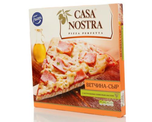 Пицца с ветчиной и сыром ТМ Casa Nostra (Каса Ностра)