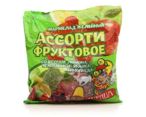 Мармелад желейный Ассорти фруктовое ТМ Тирлим