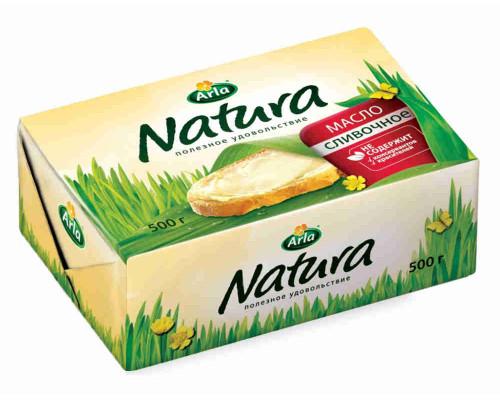Масло сливочное Arla Natura 82% 500г