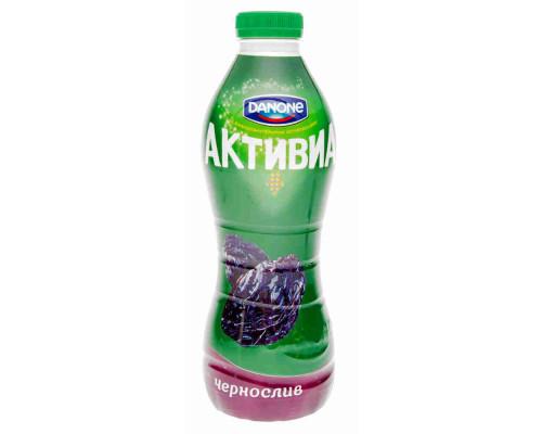 Биойогурт питьевой Danone Активиа обогащенный чернослив 2% 870г пэт