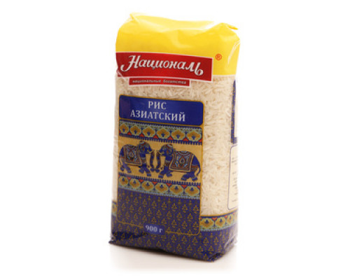 Рис длиннозерный Азиатский ТМ Националь