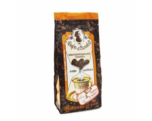 Кофе молотый ТМ Петр Великий Императорский помол, для заваривания в чашке, 204 г