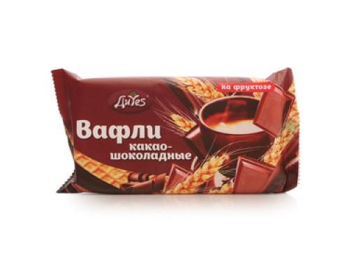 Вафли какао-шоколадные на фруктозе ТМ ДиYes (Диес)