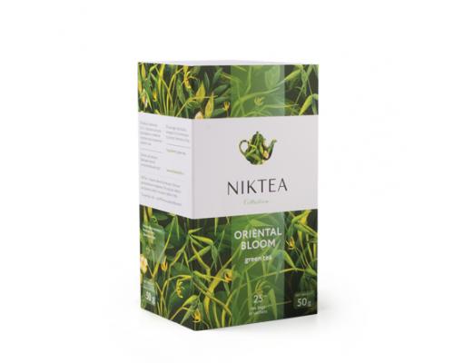 Чай зеленый ТМ Niktea (Никти) Oriental Bloom, в пакетиках, 25 шт.