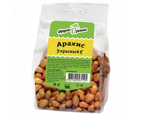 Арахис красный ТМ ФруктОрешки, 500 г
