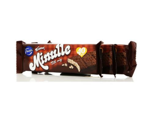 Вафля Minulle с начинкой из нуги в молочном шоколаде 3*55г ТМ Fazer (Фазер)