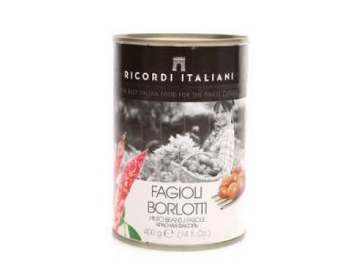 Фасоль красная Борлоттк ТМ Ricordi Italiani (Рикорди Итальяни)