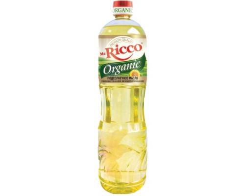 Масло подсолнечное ТМ Mr. Ricco (Мистер Рикко), рафинированное, 1 л