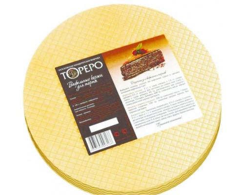 Вафельные коржи для торта ТМ Тореро, 120 г