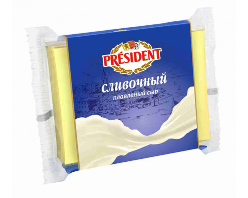 Сыр President Мастер бутерброда сливочный 300г