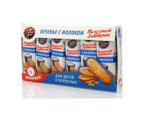 Печенье с молоком ТМ Хлебный Спас, 6 шт
