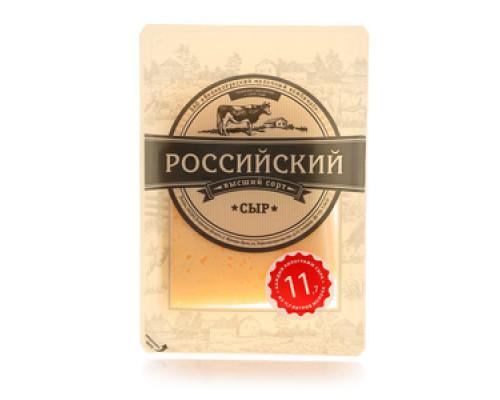 Сыр Российский 50% ТМ Великолукский